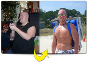 Mike's 3 Minute MicroWorkouts helped him lose 75 punds!